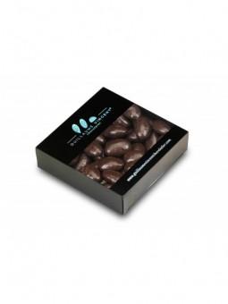 Amandes de Provence enrobées d'une fine couche de nougatine et de chocolat noir