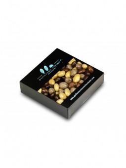 Grains de raisin macérés enrobés de 3 chocolats