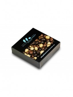 Grains de café pur Arabica enrobés de 3 chocolats