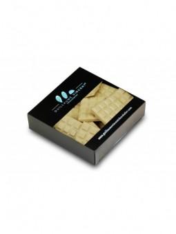 Mini  tablette Chocolat blanc et Malt D'orge