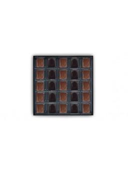 Coffret de 25 chocolats - Pralinés aux noisettes