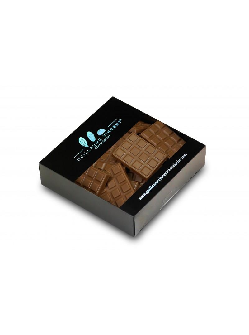 Mini-tablettes chocolat au lait -Grand cru Vanuatu 44 %